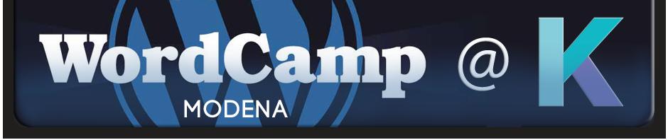 WordCamp a Modena